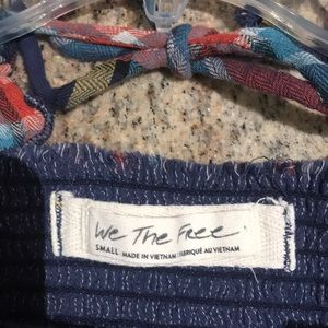 Free People Tops - Long sleeve Free People flannel shirt.